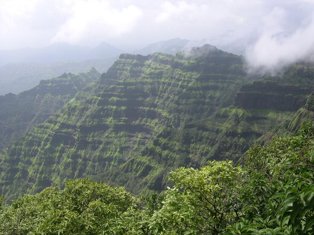 Mahabaleshwar hill station in monsoon