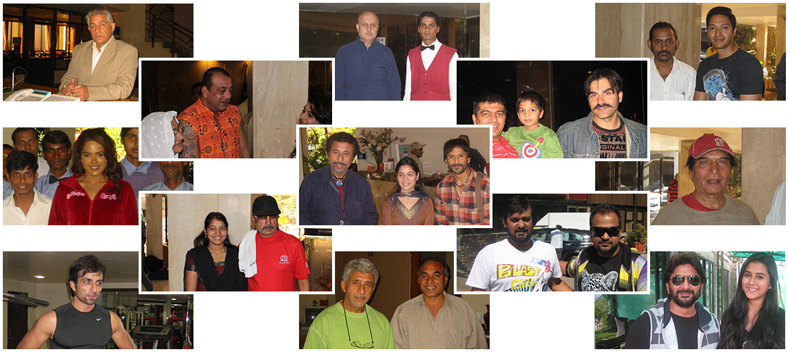 More Bollywood Celebrities at Ravine Hotel