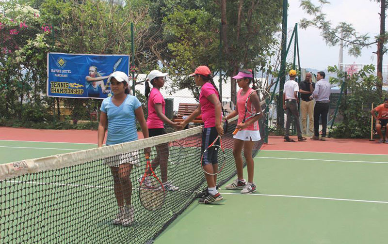 Girls Open Tennis Tournament at Ravine Hotel
