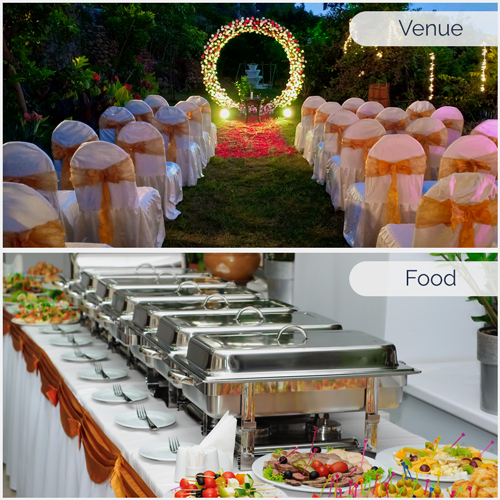 Love Package (Food + Venue)